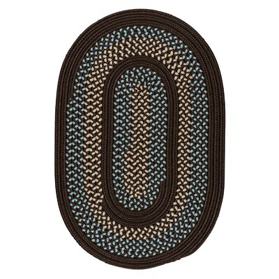 Knudtson Brown Indoor/Outdoor Area Rug Rug Size: Round 8
