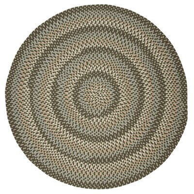 Lettie Moss Green Area Rug Rug Size: Oval Runner 2 x 6
