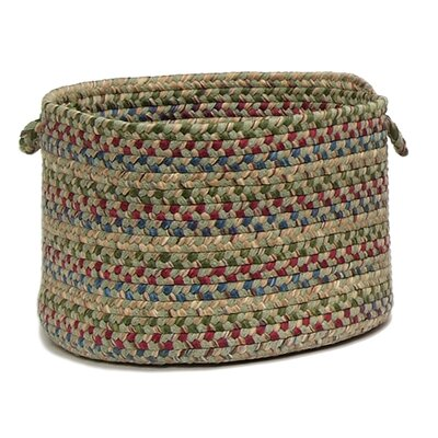 Packard Braided Utility Basket Color: Palm