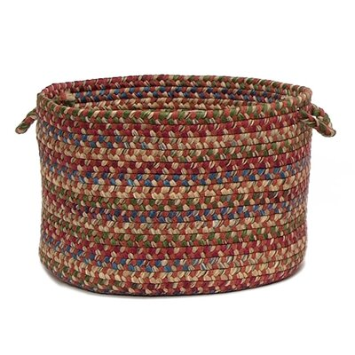 Packard Braided Utility Basket Color: Rosewood