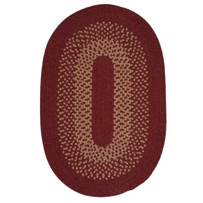 Lionel Holly Berry Area Rug Rug Size: Oval 2 x 3