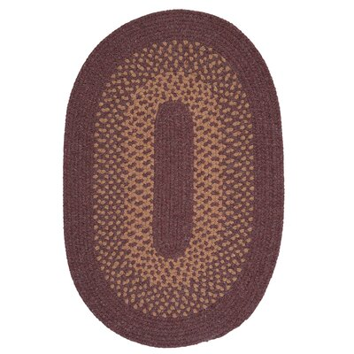 Lionel Dark Plum Area Rug Rug Size: Rectangle 2 x 4