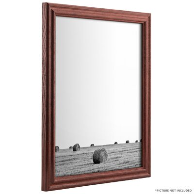 0.75 Wide Wood Grain Picture Frame