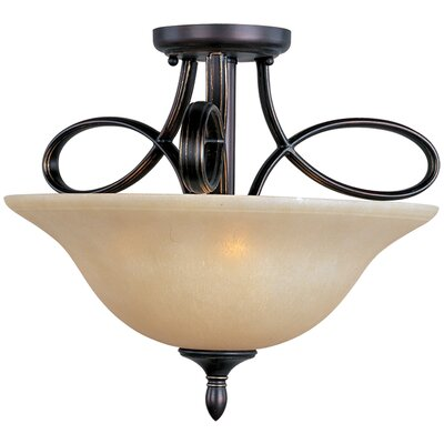 Callihan 3-Light Semi-Flush Mount