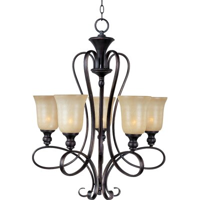 Callihan 5-Light Shaded Chandelier