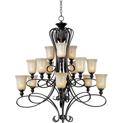 Callihan 15-Light Shaded Chandelier