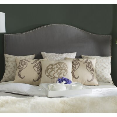 Carol Queen Upholstered Headboard Upholstery: Gray