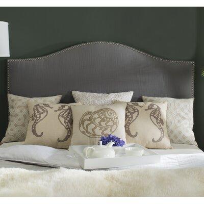 Carol Queen Upholstered Headboard Upholstery: Gray