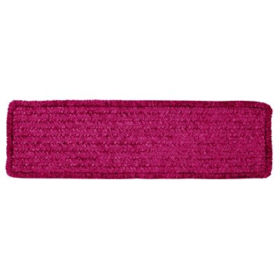 Redfield Pink Chenille Stair Tread Quantity: 13