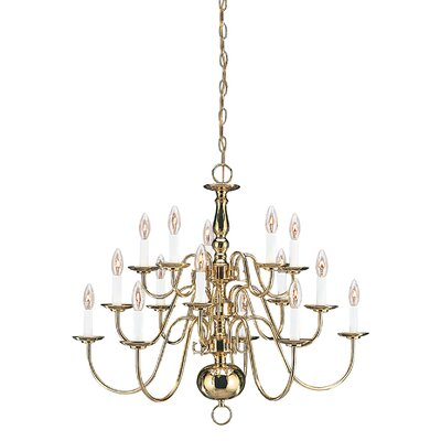 Brookville 15-Light Candle-Style Chandelier