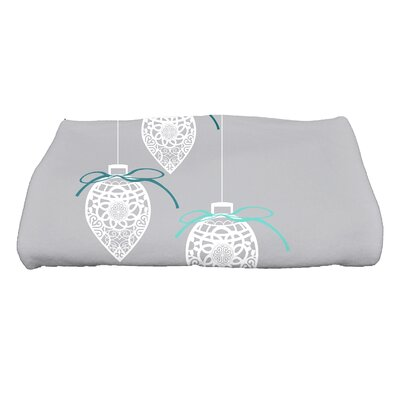 Filagree Ornaments Bath Towel Color: Gray