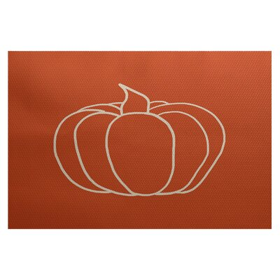 Miller Hand Towel Orange Indoor/Outdoor Area Rug