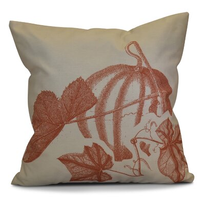 Miller Hand Towel Stagecoach Floral Throw Pillow Color: Rust, Size: 20 H x 20 W x 2 D