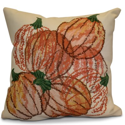 Miller Pumpkin Pile Geometric Outdoor Throw Pillow Size: 18 H x 18 W x 2 D