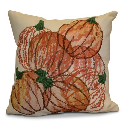 Miller Pumpkin Pile Geometric Euro Pillow