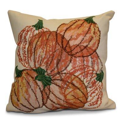Miller Pumpkin Pile Geometric Euro Pillow