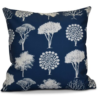 Miller Field of Trees Floral Euro Pillow