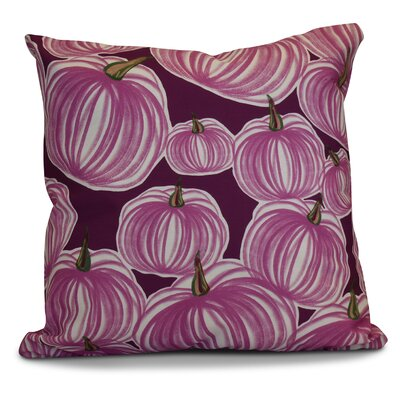 Miller Pumpkins-A-Plenty Geometric Outdoor Throw Pillow Size: 16