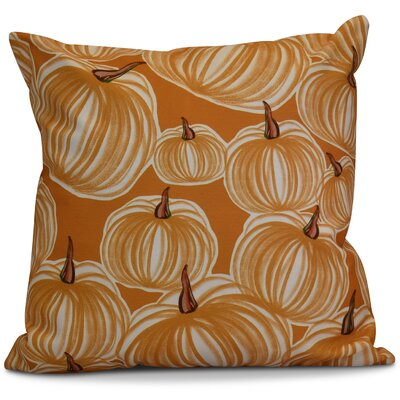 Miller Pumpkins-A-Plenty Geometric Outdoor Throw Pillow