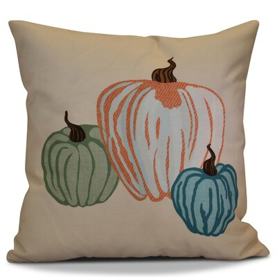 Miller Pumpkin Spice Geometric Euro Pillow