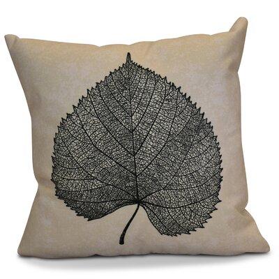 Miller Leaf Study Floral Euro Pillow