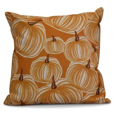 Miller Pumpkins-A-Plenty Geometric Euro Pillow