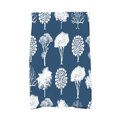 Miller Hand Towel Color: Blue