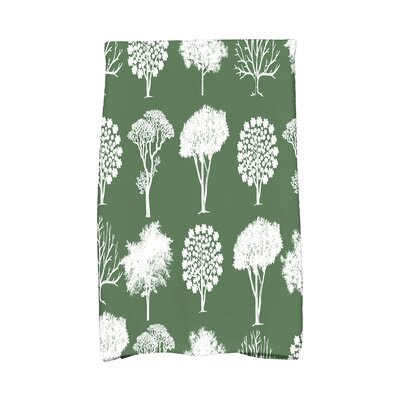 Miller Hand Towel Color: Green