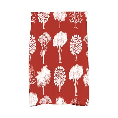 Miller Hand Towel Color: Rust