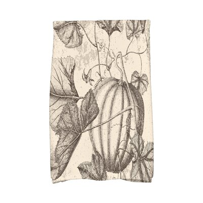 Miller Antique Pumpkin Holiday Print Hand Towel