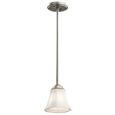 Huntington 1-Light Mini Pendant Finish: Brushed Nickel