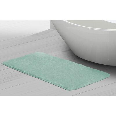 Ignatius Bath Mat Size: 21 x 34, Color: Aqua
