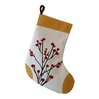 Alcott Hill Holiday Wishes Joy Decorative Holiday Stocking