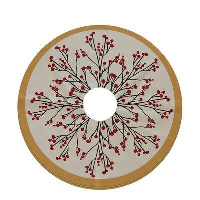 Alcott Hill Holiday Wishes Joy Decorative Holiday Tree Skirt