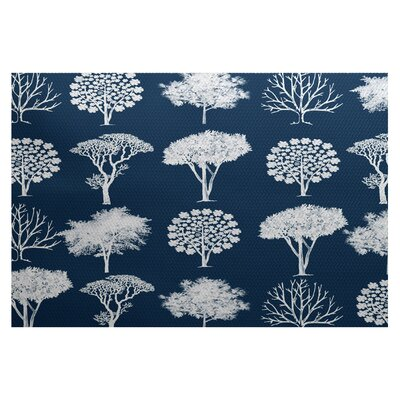 Ingaret Blue Indoor/Outdoor Area Rug