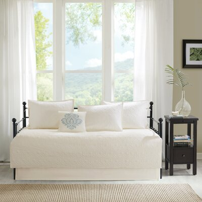 Emy 6 Piece Daybed Set Color: Ivory