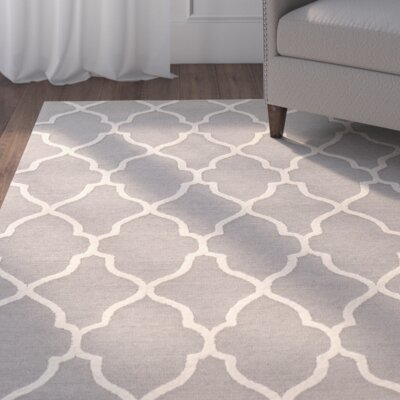 Wyndmoor Hand-Tufted Gray Area Rug
