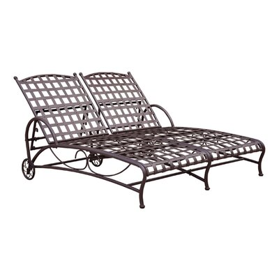 Schilling Double Patio Chaise Lounge
