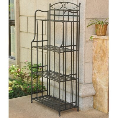 Schilling Bakers Rack Finish: Antique Black