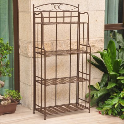 Schilling Bakers Rack Finish: Rustic Brown