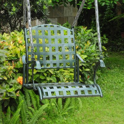Schilling Porch Swing Finish: Verti Gris