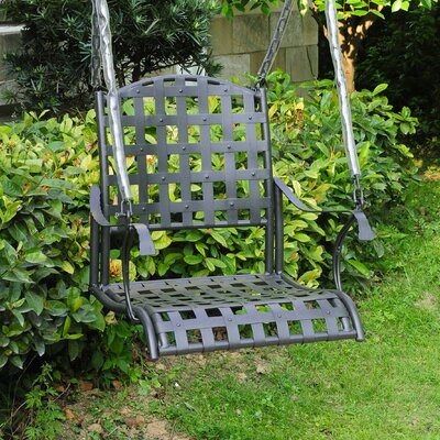Schilling Porch Swing Finish: Antique Black