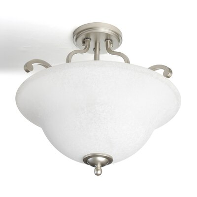 Haffenreffer 3-Light Semi Flush Mount