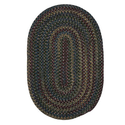 Lippold Charcoal Area Rug Rug Size: Oval 2 x 12