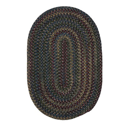 Lippold Charcoal Area Rug Rug Size: Oval 5 x 8