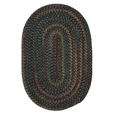 Lippold Charcoal Area Rug Rug Size: Oval 2 x 10