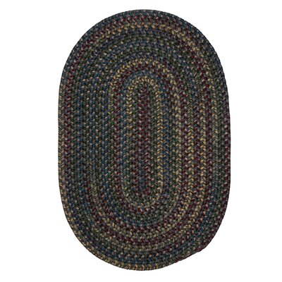 Lippold Charcoal Area Rug Rug Size: Oval 12 x 15