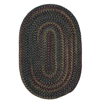 Lippold Charcoal Area Rug Rug Size: Oval 8 x 11