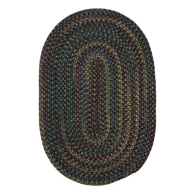 Lippold Charcoal Area Rug Rug Size: Oval 2 x 4