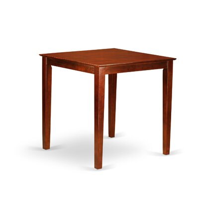 Albany Height Pub Table Color: Rich Brown